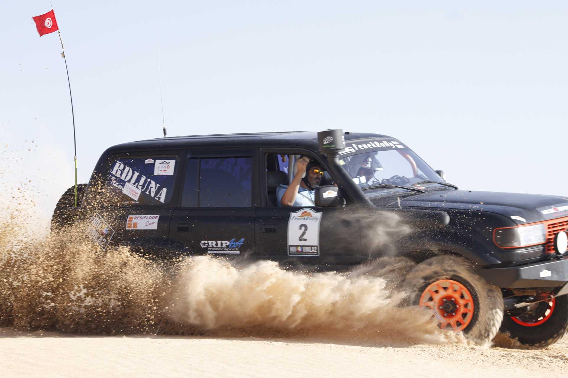 Carrera para 4x4 en Marruecos