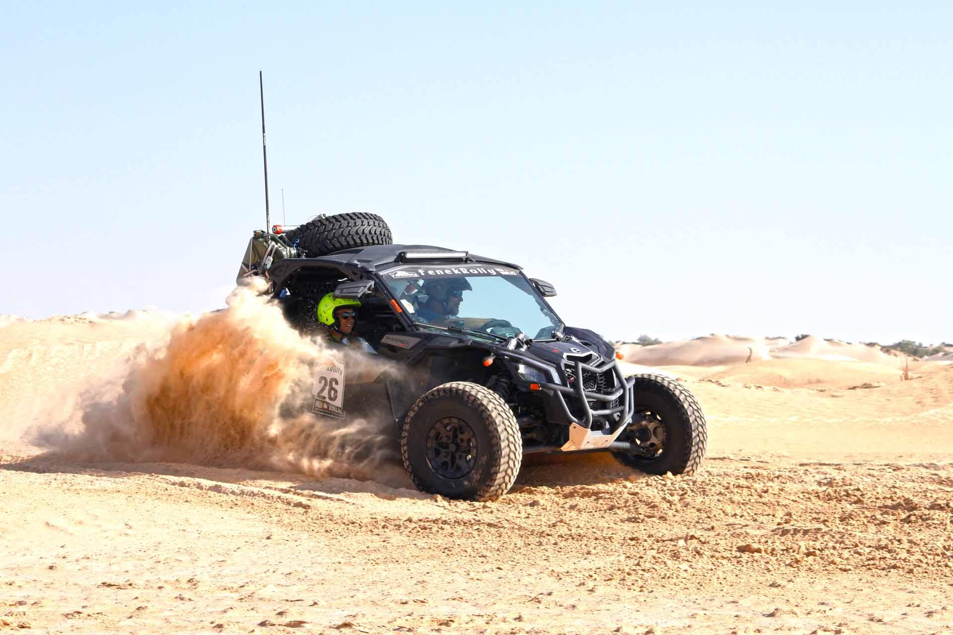 Carrera para SSV en Marruecos