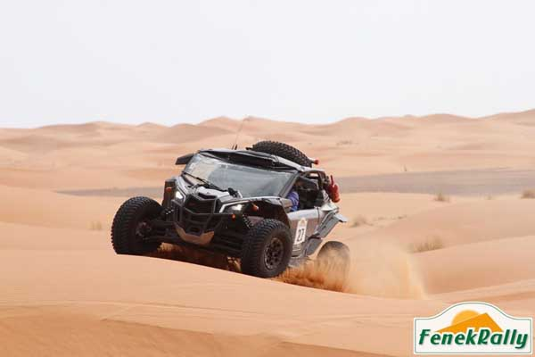 Carrera rally raid en Marruecos y Túnez